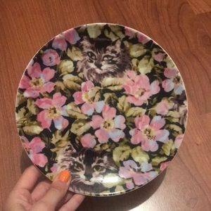 Set of 4 Urban Outfitters Cat Plates